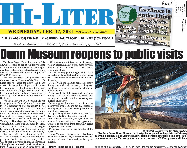 Hi-Liter Illinois 2/17/21