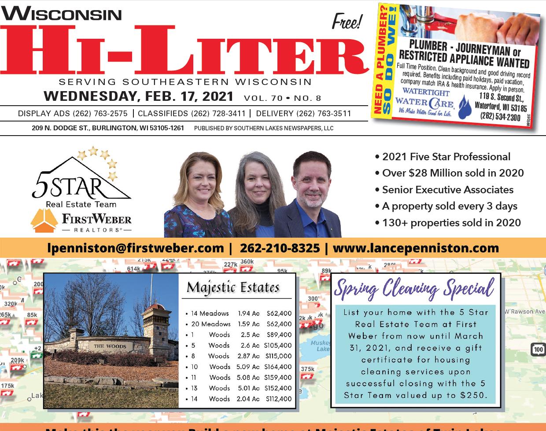 Hi-Liter Wisconsin 2/17/2021
