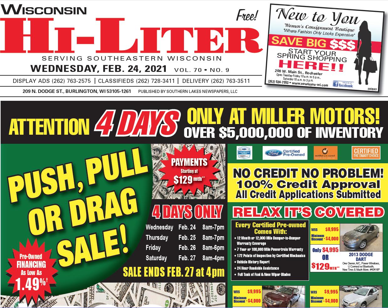 Hi-Liter Wisconsin 2/24/2021