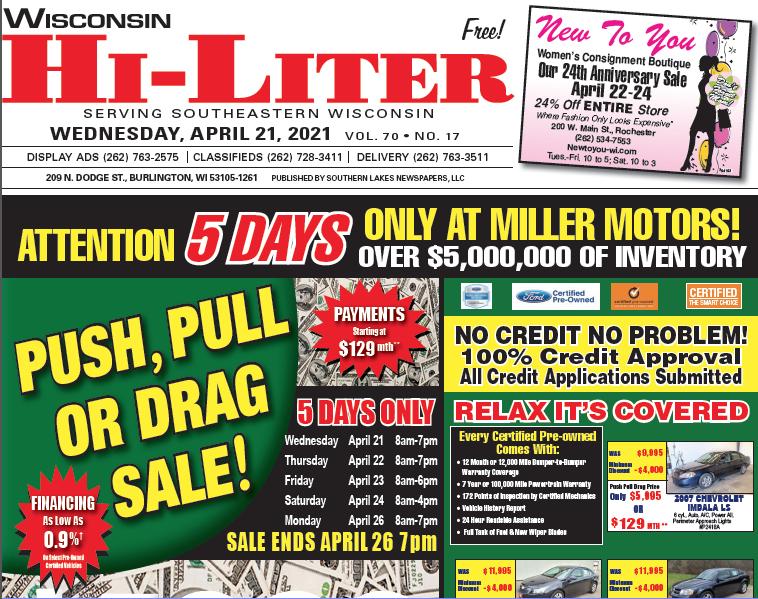 Hi-Liter Wisconsin 4/21/2021