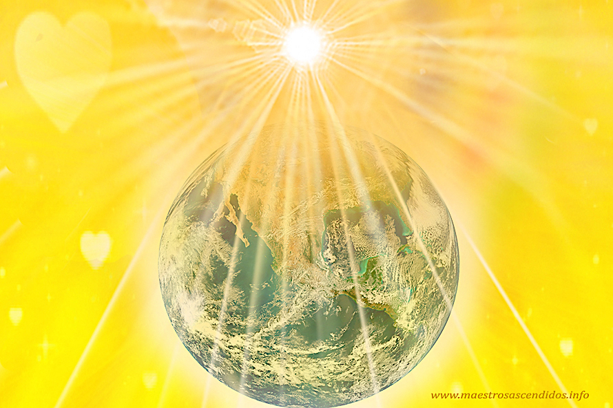Planeta Tierra Iluminado