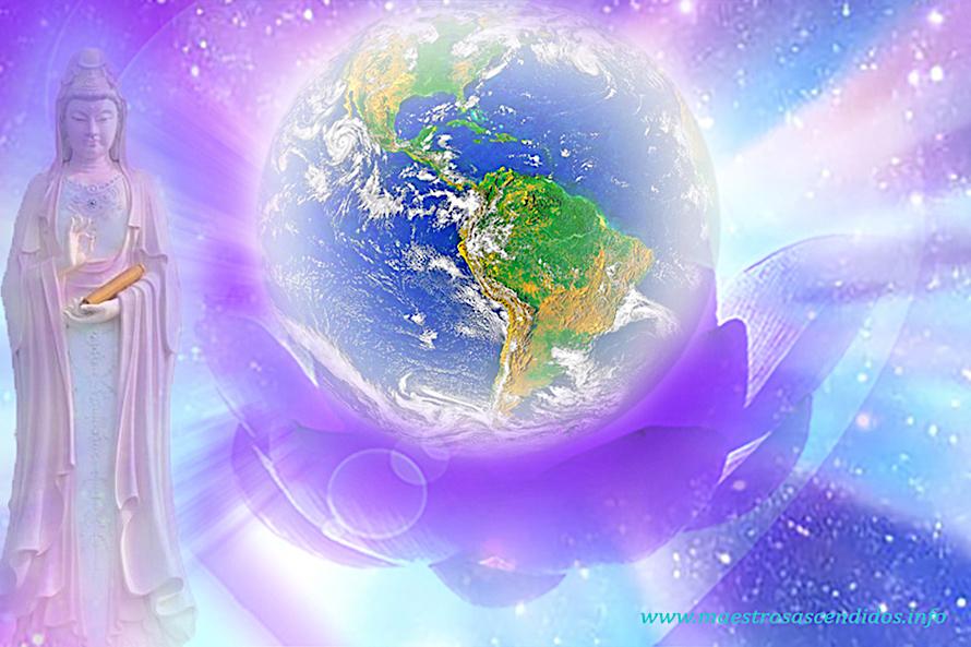 Kwan Yin, Planeta en Loto Violeta