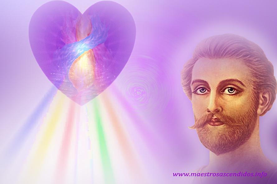 Saint Germain - Corazón Violeta