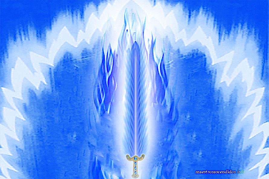 Espada de Llama Azul