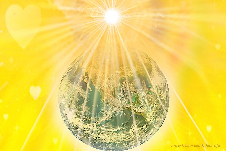Planeta Tierra Luz