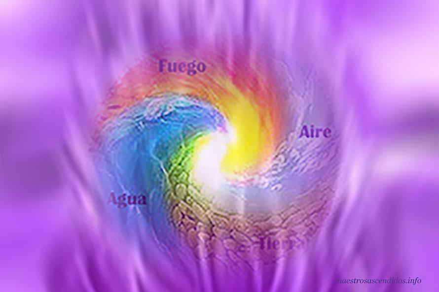 Elementales en Llama Violeta