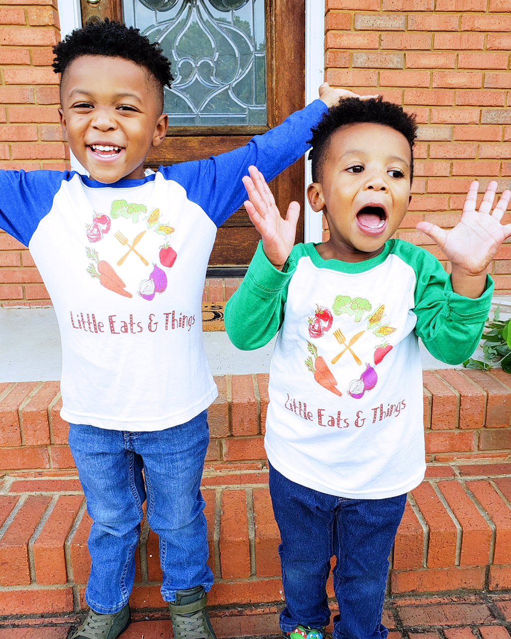 African American kids of Registered Dietitian Nutritionist and Owner of Little Eats & Things