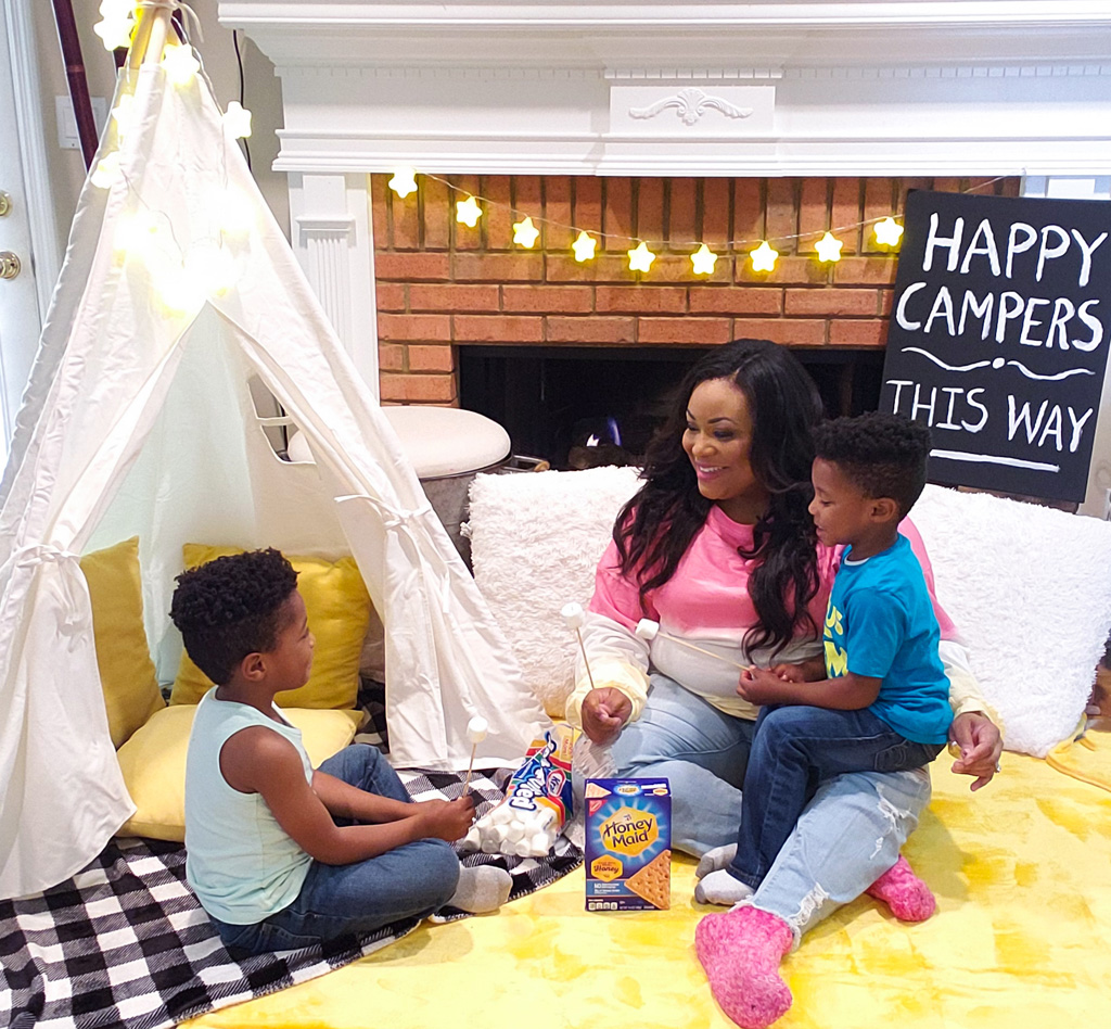 How to Set Up the Ultimate DIY Indoor Camping Experience