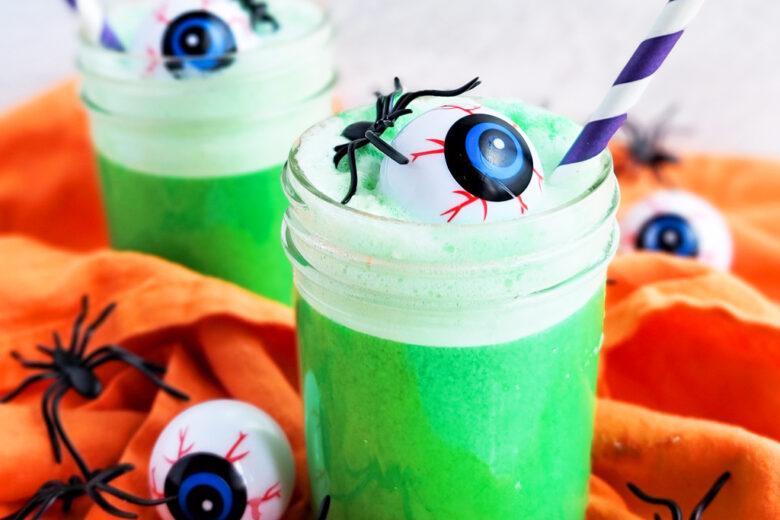 Spooky Green Halloween Punch