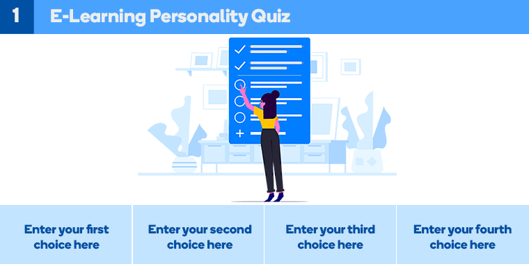Elearning Personality Quiz Storyline 360