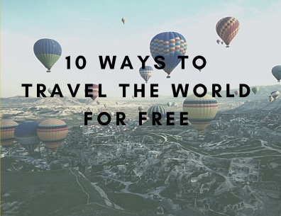 10 Ways to Travel the World BOOK COVER