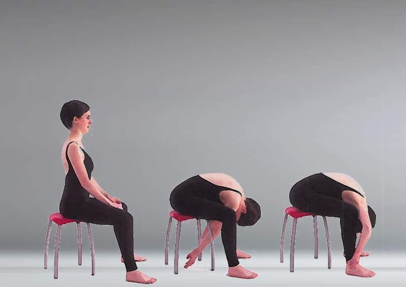 McKenzie Flexion in Sitting