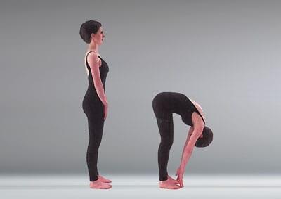 McKenzie Flexion in Standing