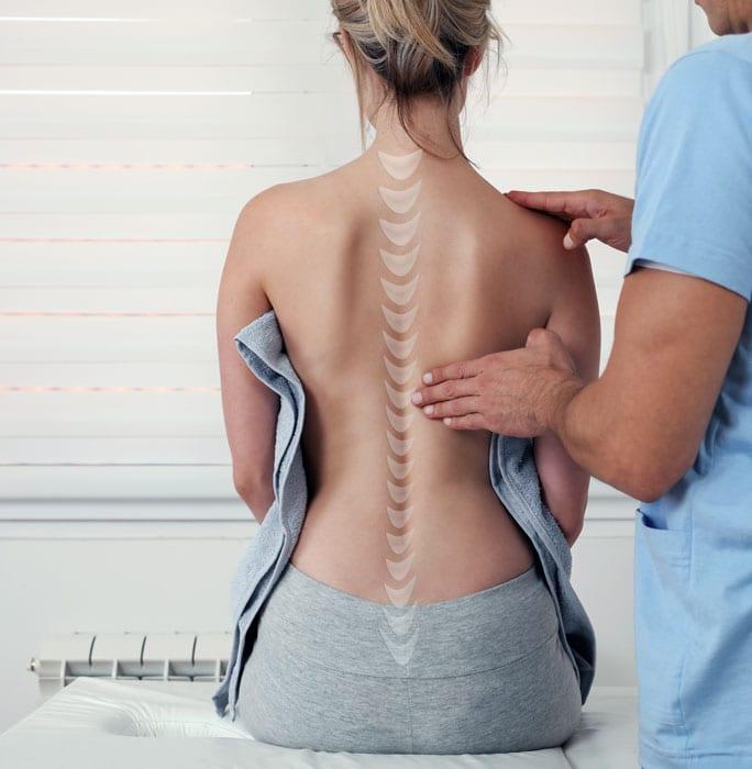 back pain exam