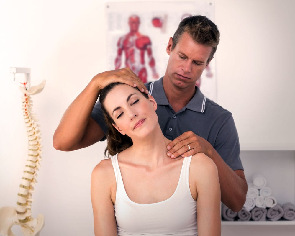 Physical therapy neck pain