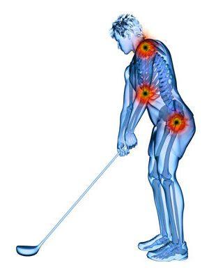 Golf Swing Spine Pain