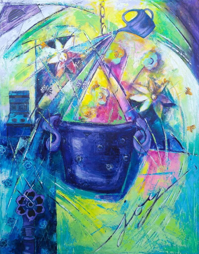 Stove, a Spigot, and a Flower Pot, 2021