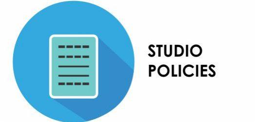 studio policies