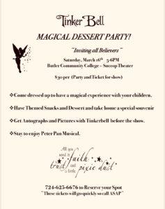 Batavia Studios Tinkerbell Magical Dessert Party