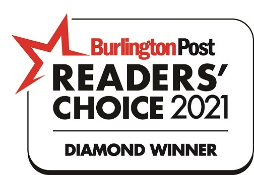 Burlington Readers Choice Diamond Awards 2021