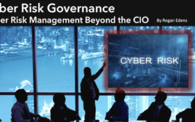 CYBER RISK GOVERNANCE: CYBER RISK MANAGEMENT BEYOND THE CIO