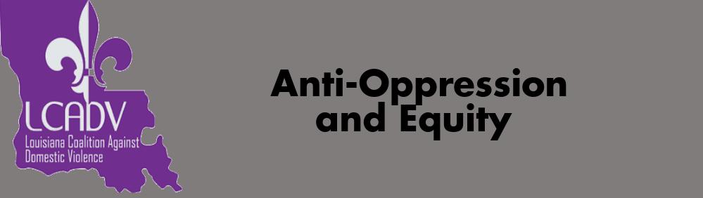 Anti-Oppression