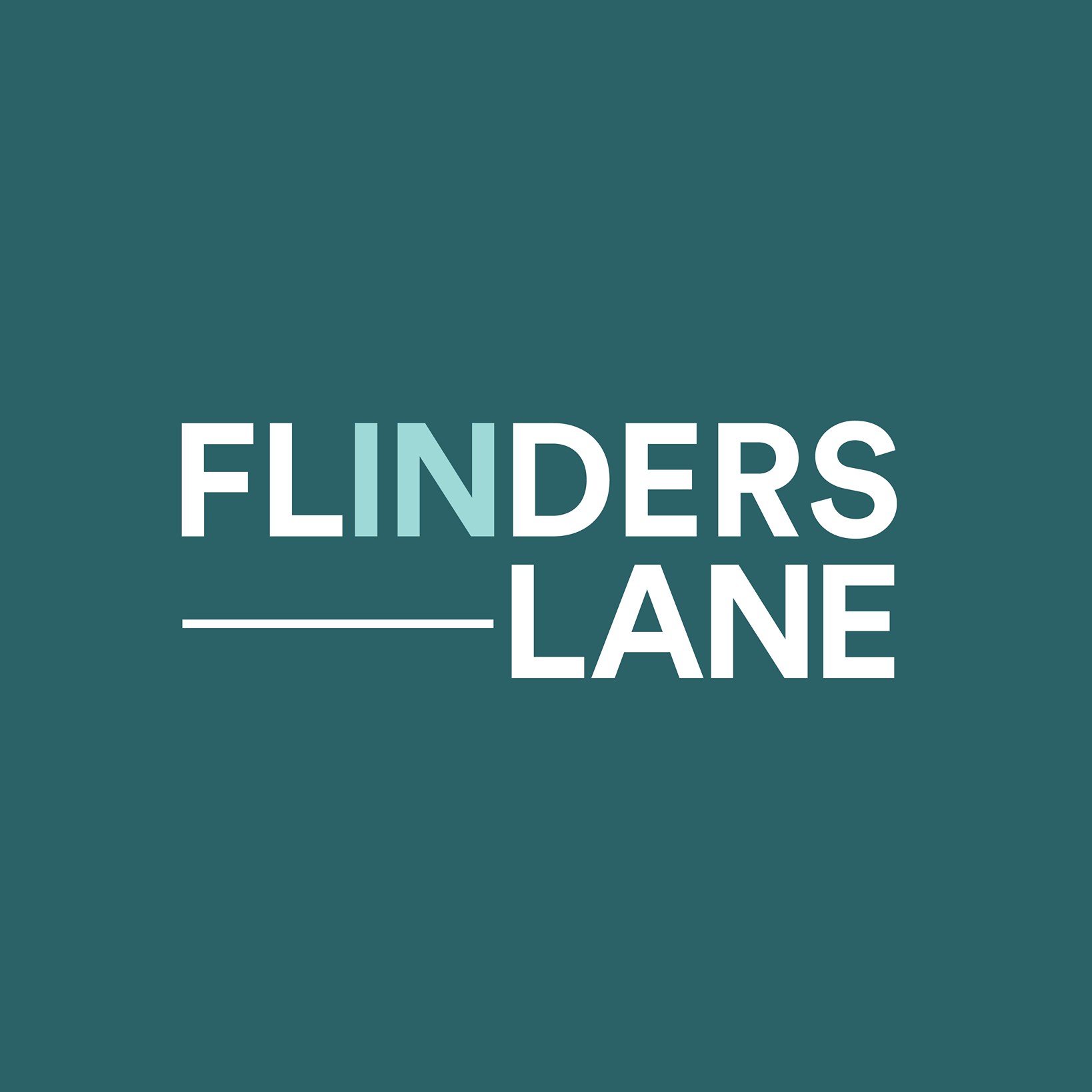flinders lane logo