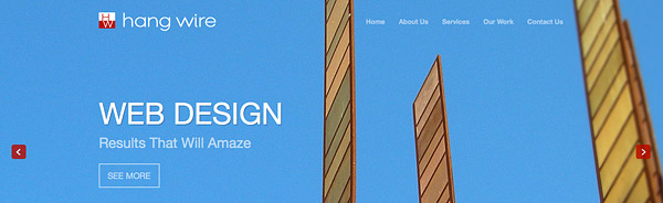 Hang Wire launches new Seattle Website Design!