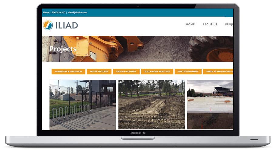 contractor website seattle