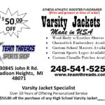 Varsity Jacket Promotion