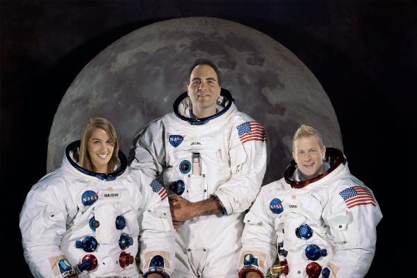 Astronauts Three Person
