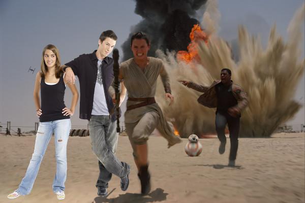 Star Wars Jakku Run
