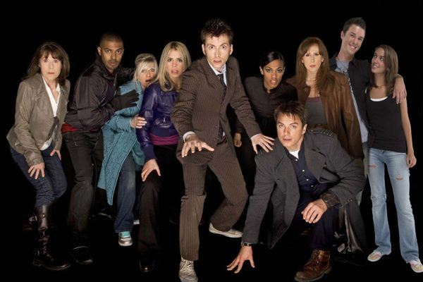With the Doctor Who Cast
