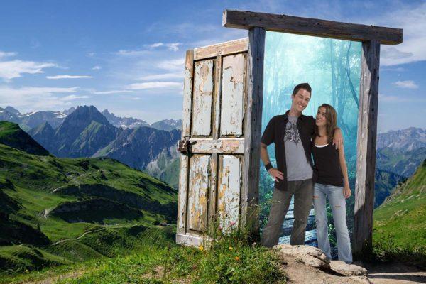 Hidden Door to a New World