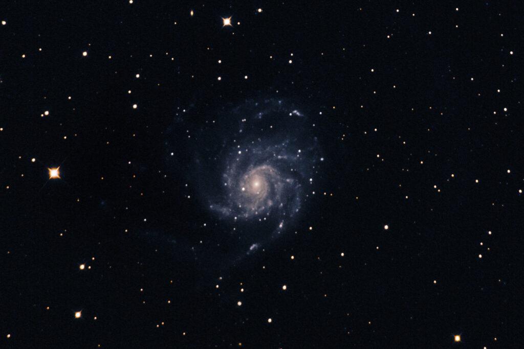 Messier 101, Pinwheel Galaxy
