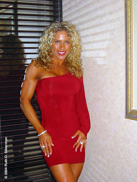It is easy to take a good picture of Monica Brant. This is a favorite, taken in 2004.