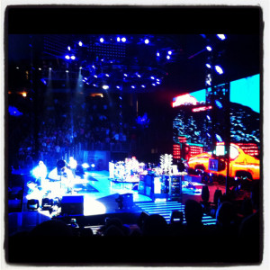 red hot chili peppers performing in Omaha
