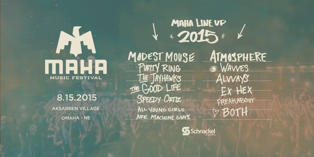 Maha Music Festival Lineup Announced