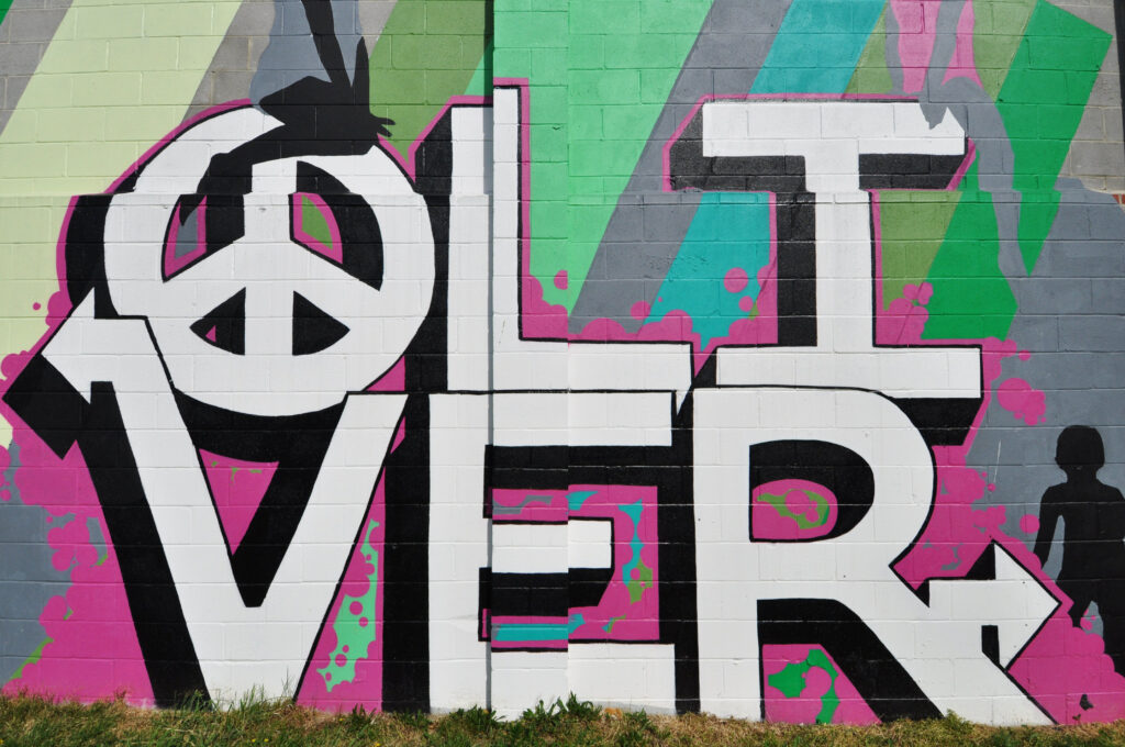 Olive Mural