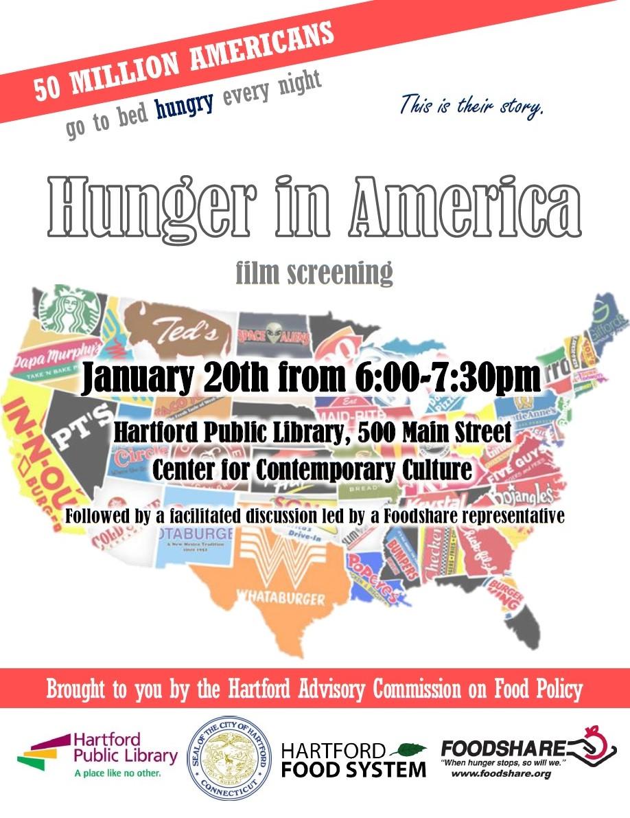 hunger in america flyer