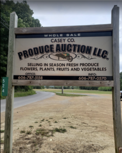 Casey County Produce Auctions