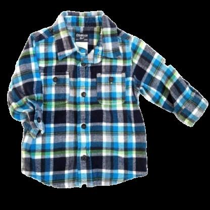 OshKosh Button Down Shirt (Size 12M)