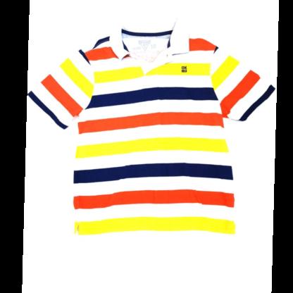 OshKosh Striped Polo Shirt (Size 10)