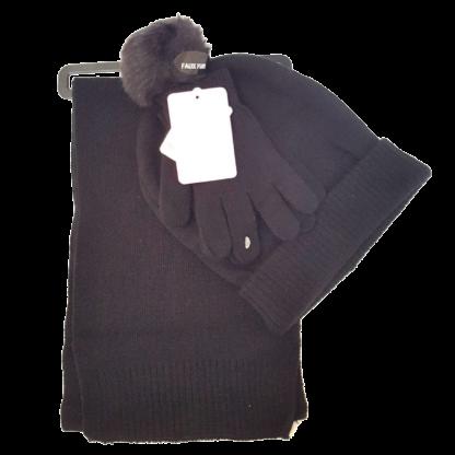 Berkshire Fashions Hat, Gloves & Scarf Set (Size 4-16)