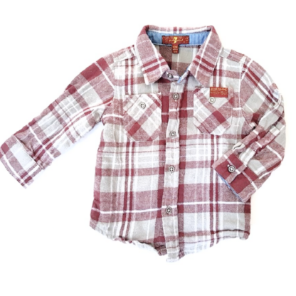 7 For All Mankind Button Down Shirt