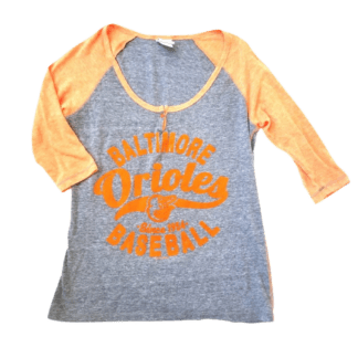 5th & Ocean Clothing, LLC Orioles Shirt (Size L)