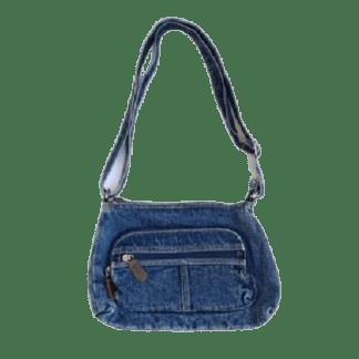 Vintage Inspired Denim Handbag
