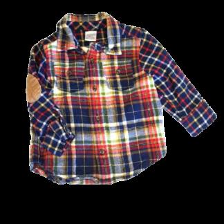 Gymboree Flannel Shirt (Size 12-18M)