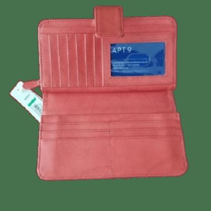 APT.9 Sandalwood Tab Clutch Wallet