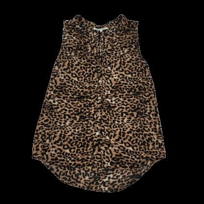 Daniel Rainn Leopard Print Top (Size M)